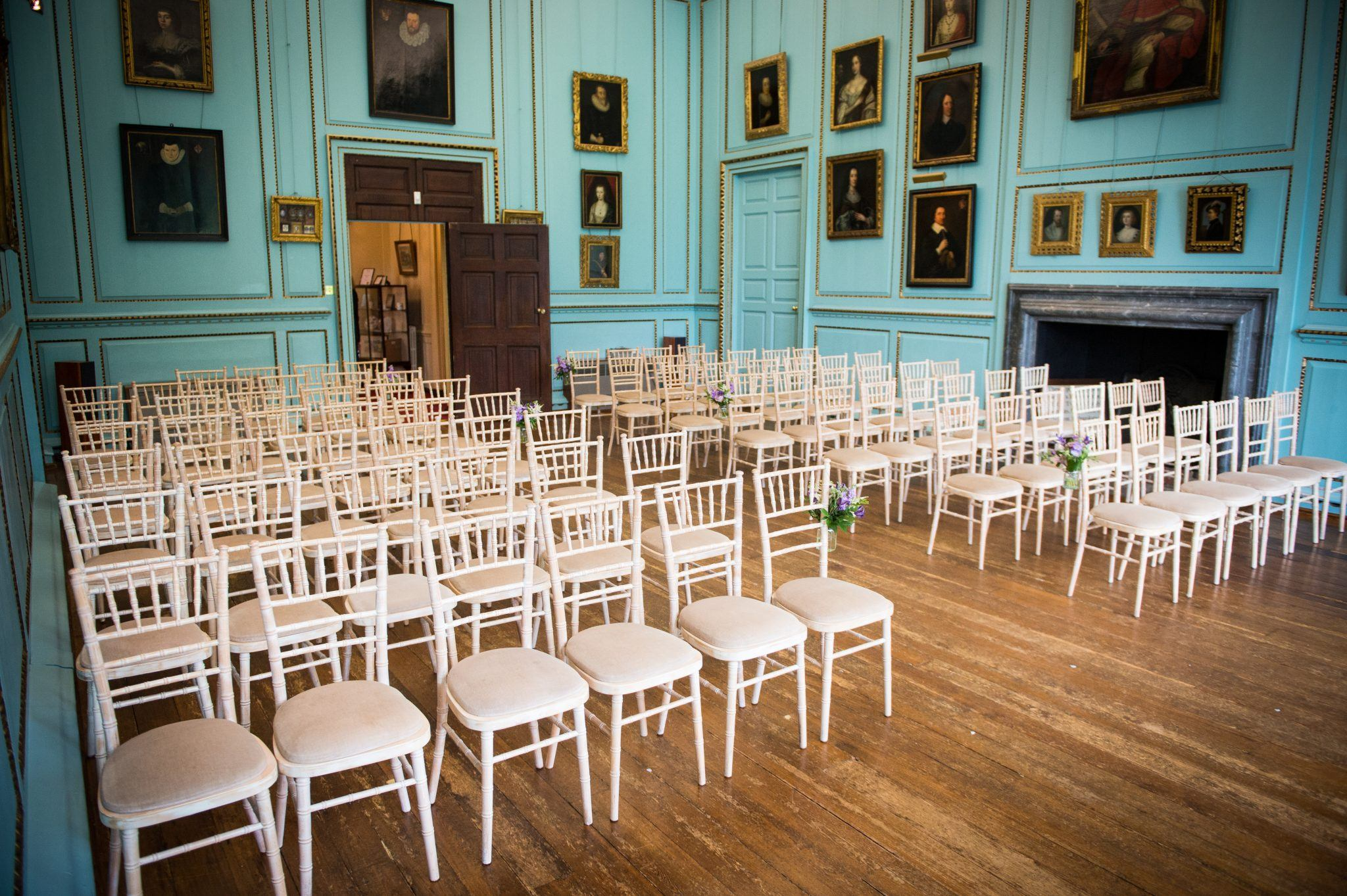 Great Hall Inside 2 Bradbourne House Kent