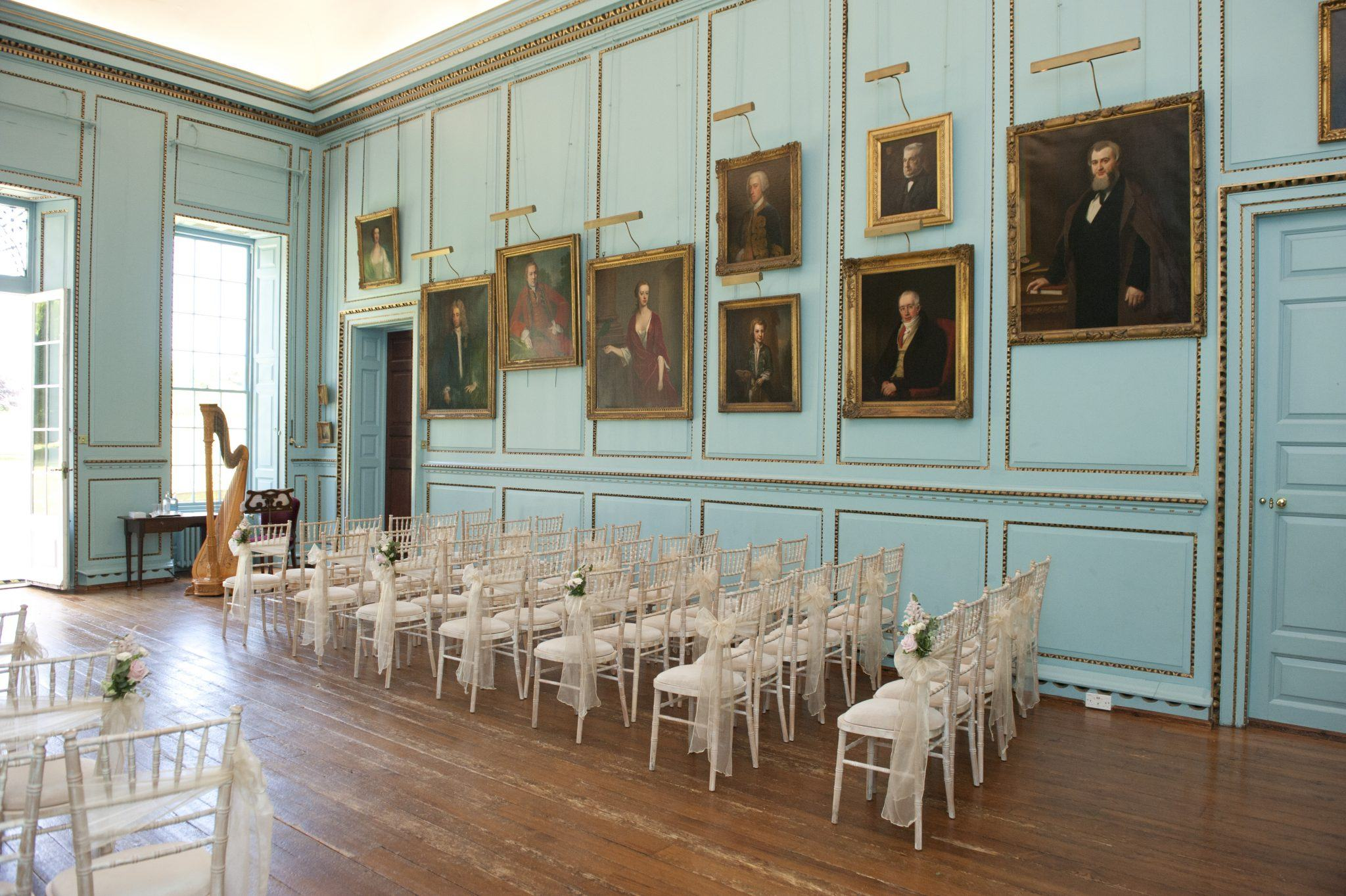 Great Hall Inside Bradbourne House Kent