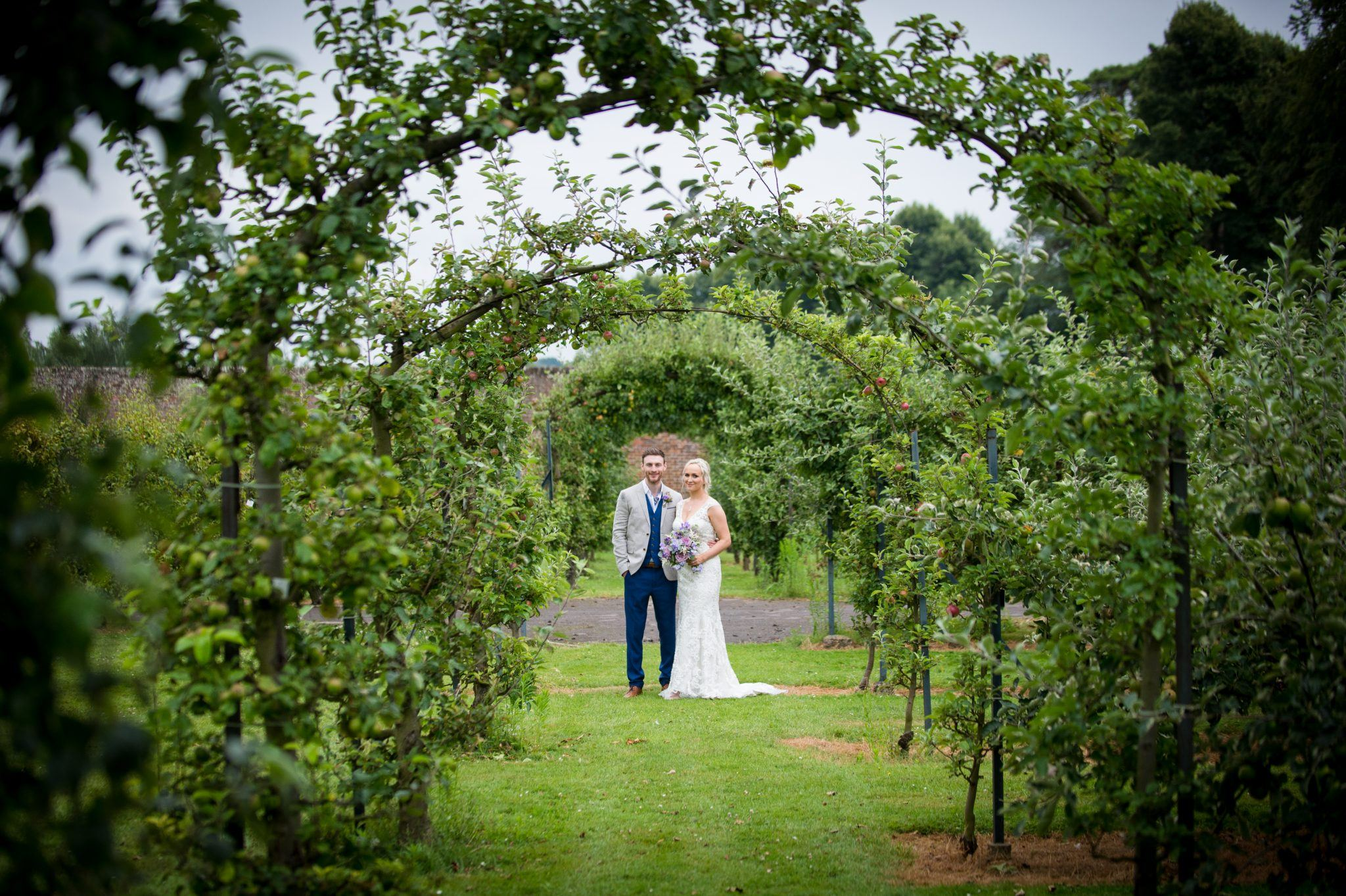 Hatton Fruit Garden Wedding Bradbourne House Kent