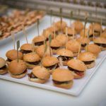 Emma and Billy's Wedding Food Bradbourne House