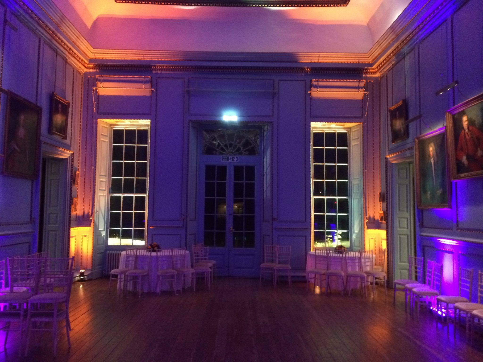 Great Hall Wedding Bradbourne House
